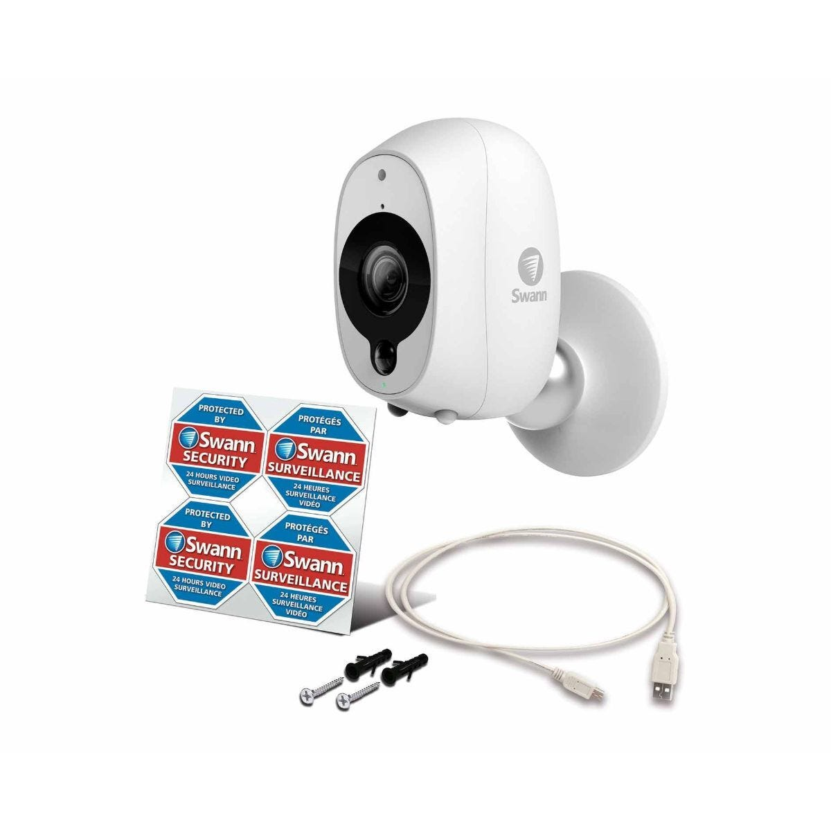Swann WireFree 1080p Smart Security Camera