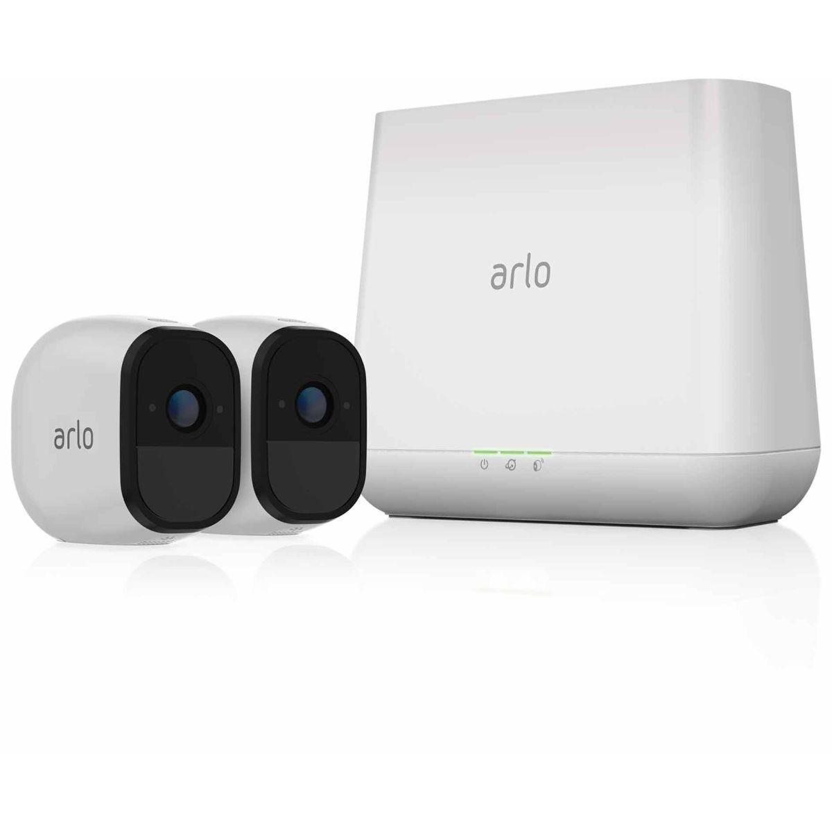 Arlo Pro Wirefree Smart Security System with 2 x HD Cameras