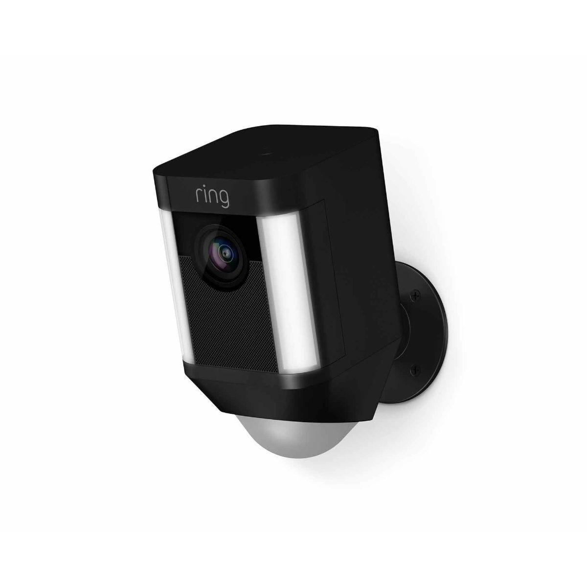 Ring Spotlight Battery Security Camera Black