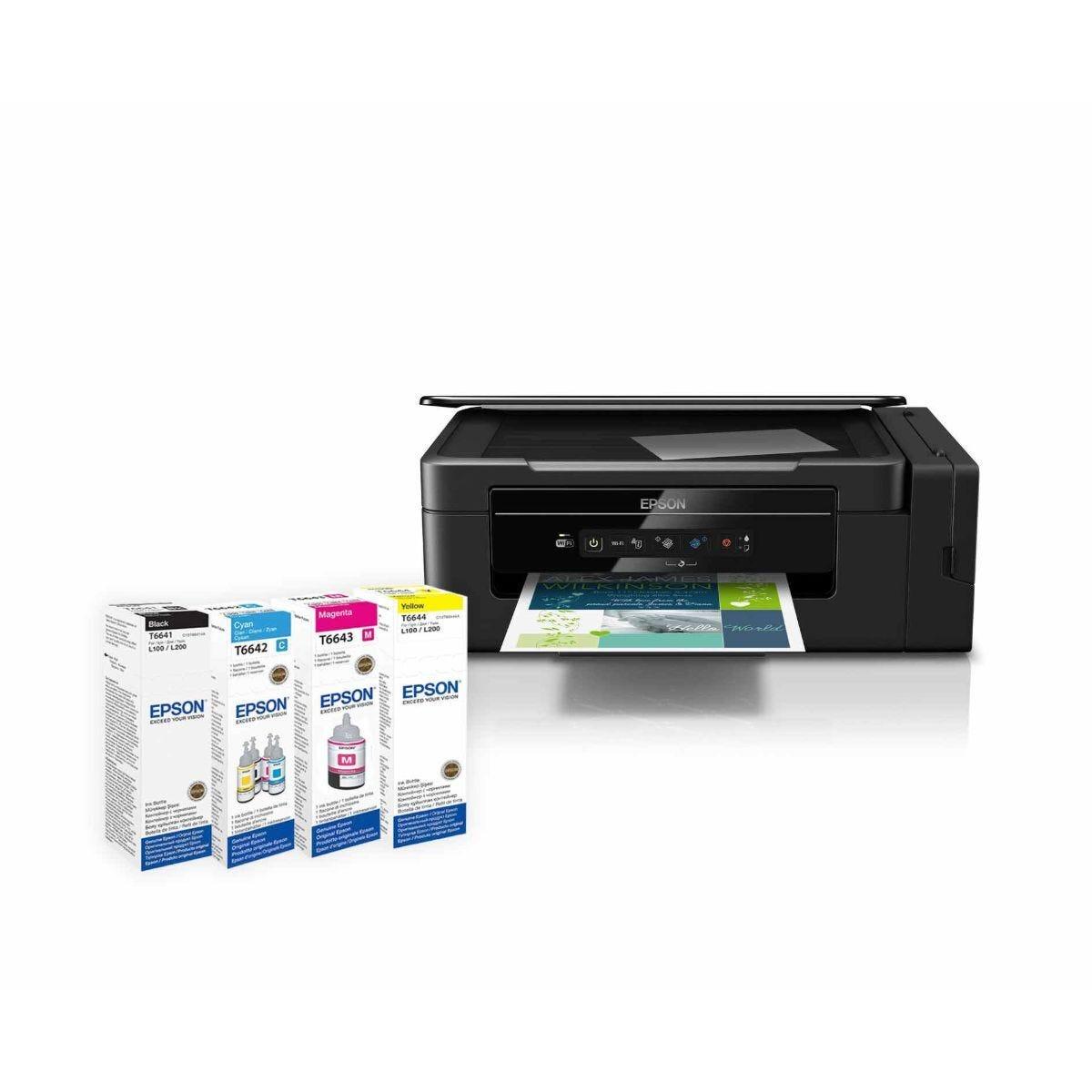 Epson EcoTank ET-2600 All in One Wireless Inkjet Printer