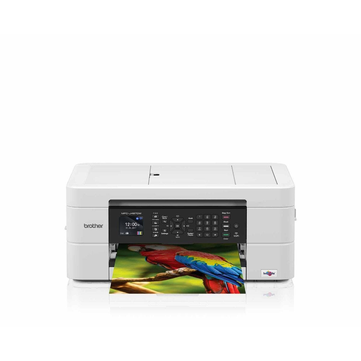 Brother MFC J497DW All-in-One Wireless Inkjet Printer with Fax