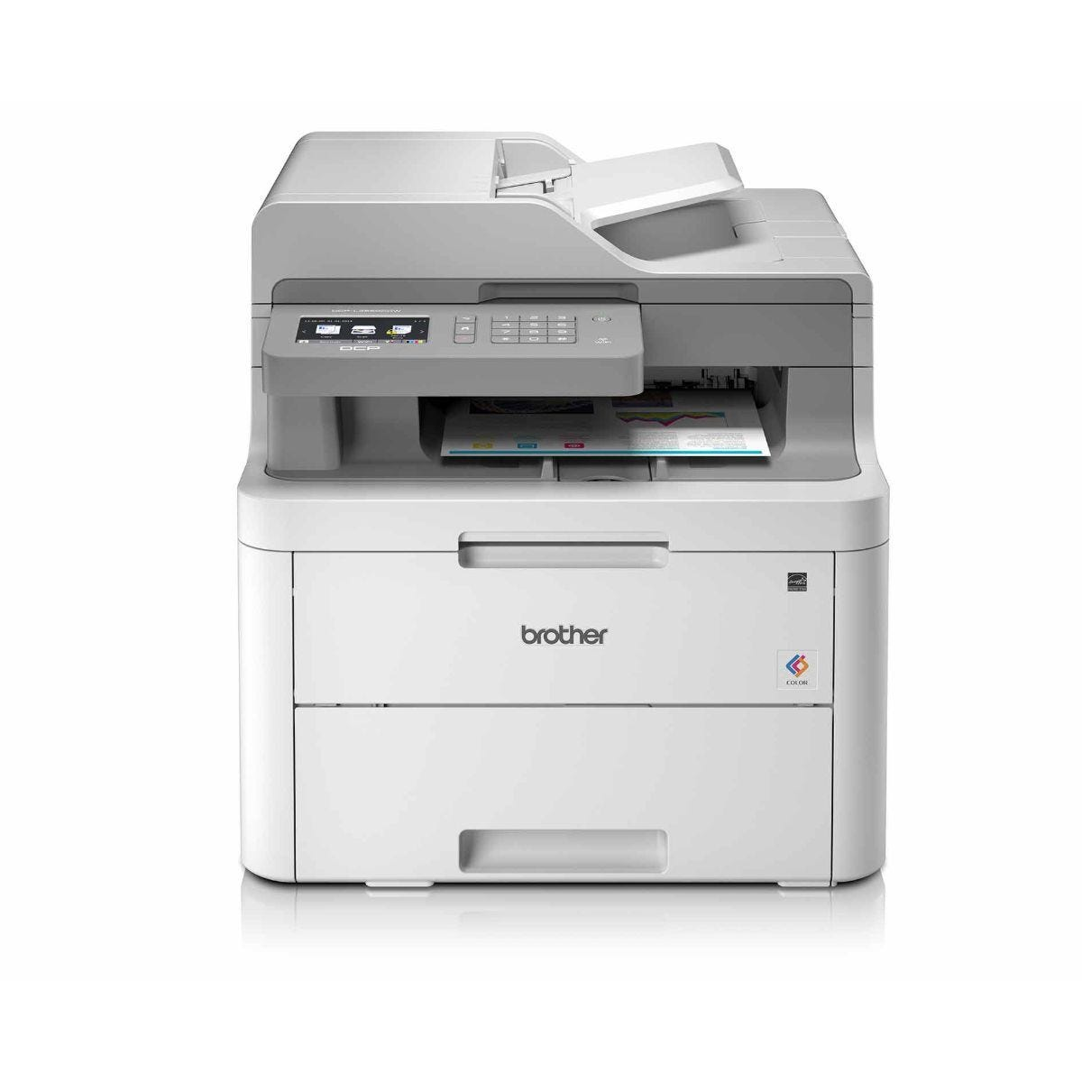 Brother DCP-L3550CDW All in One Wireless LED Printer