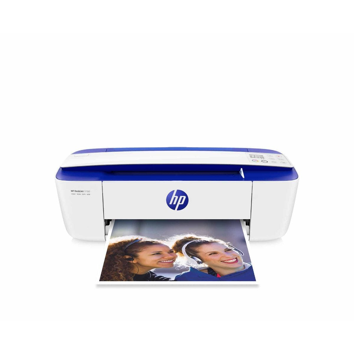 HP Deskjet 3760 Wireless All in One Inkjet Printer with Free 2 Month Instant Ink Trial
