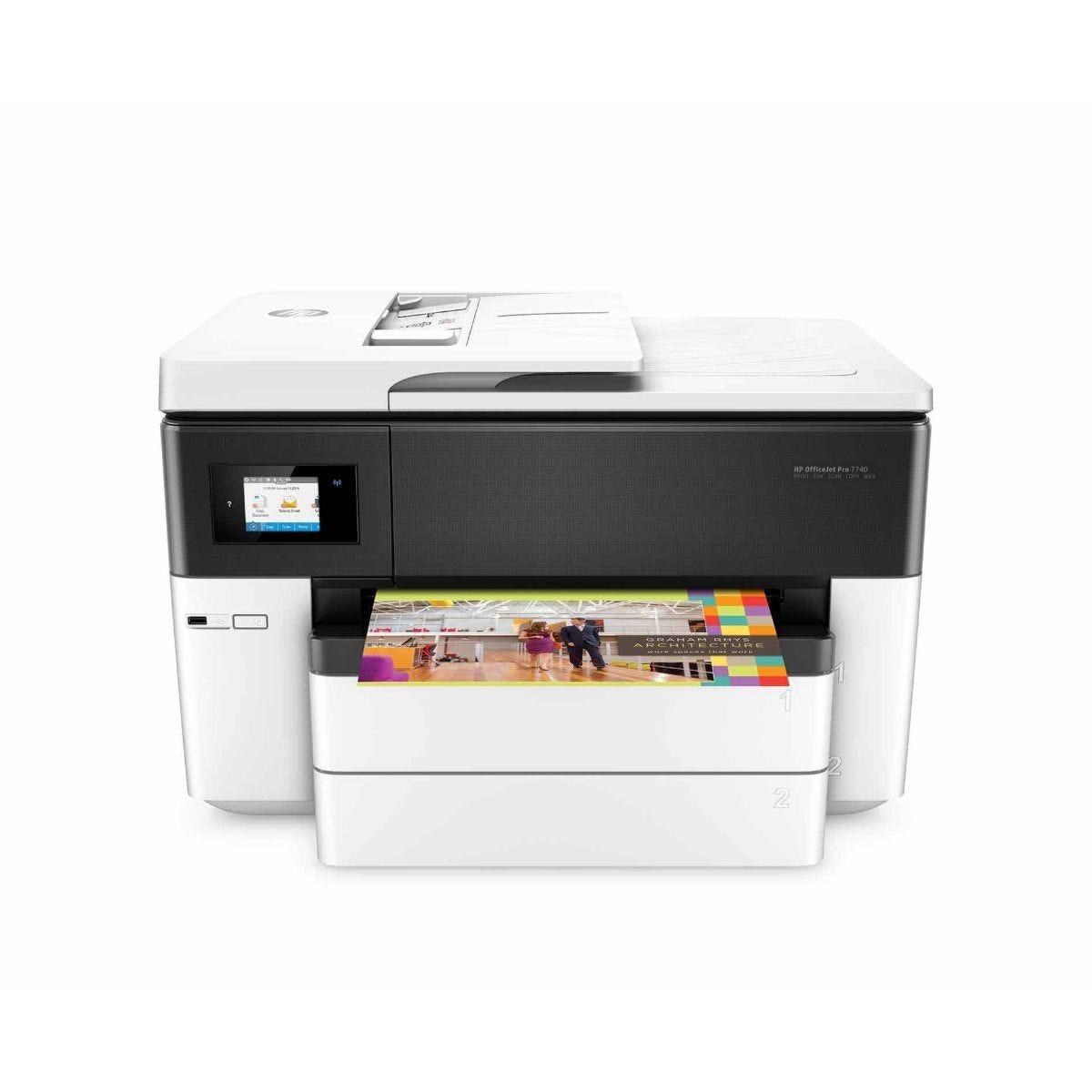 HP Officejet Pro 7740 All in One Wireless Inkjet Printer