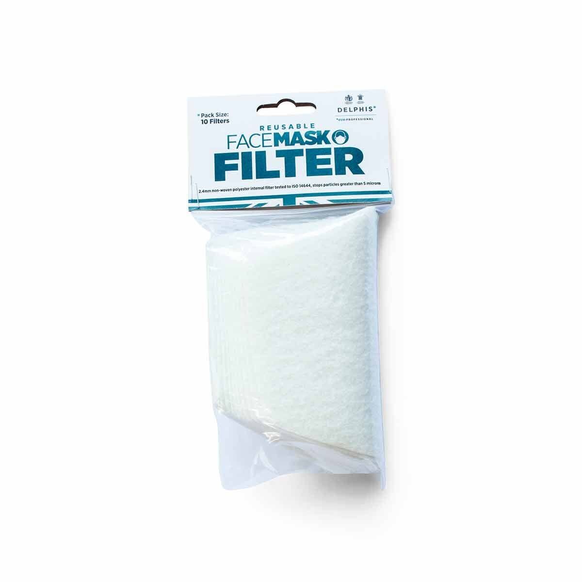 Delphis Face Mask Filters Pack of 10