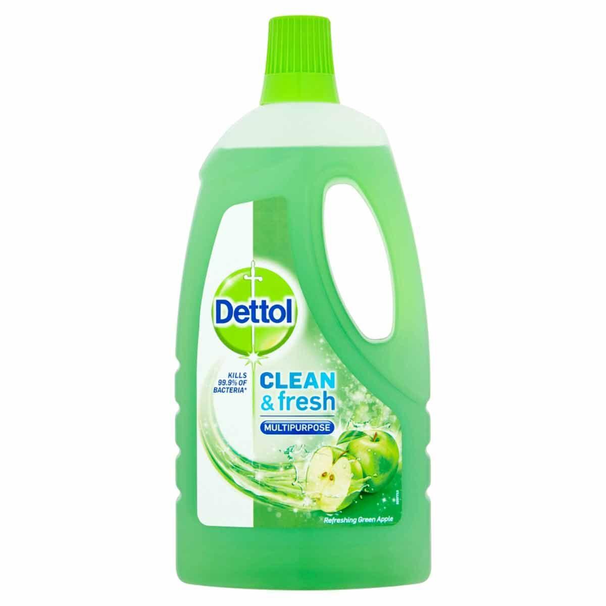 Dettol Complete Clean Green Apple 1L