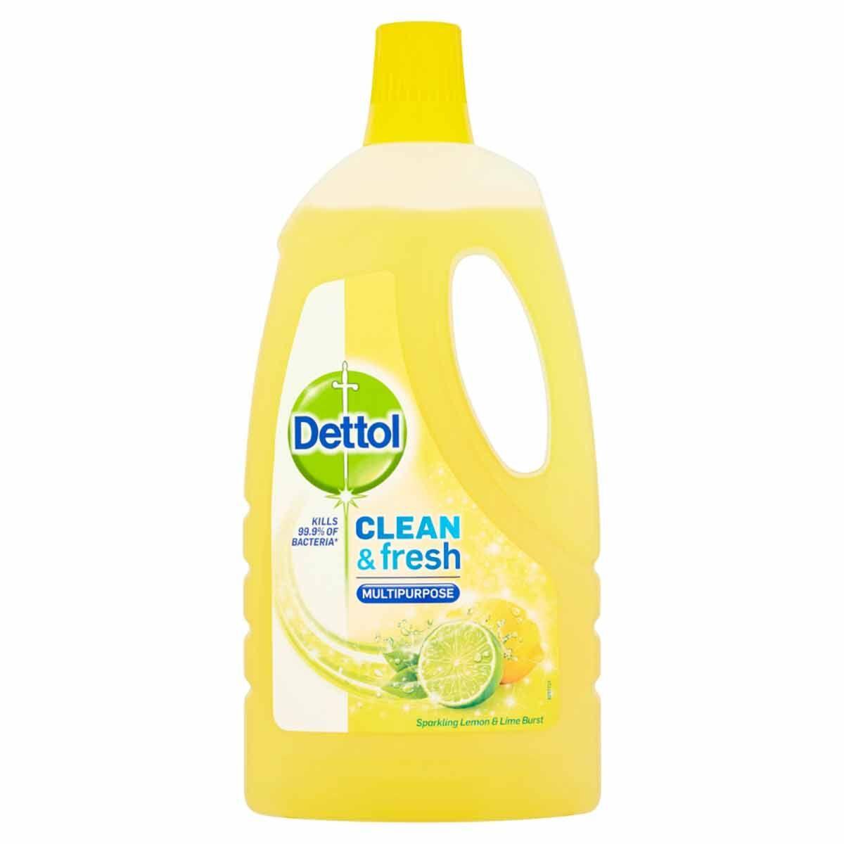 Dettol Complete Clean Sparkling Lemon 1L