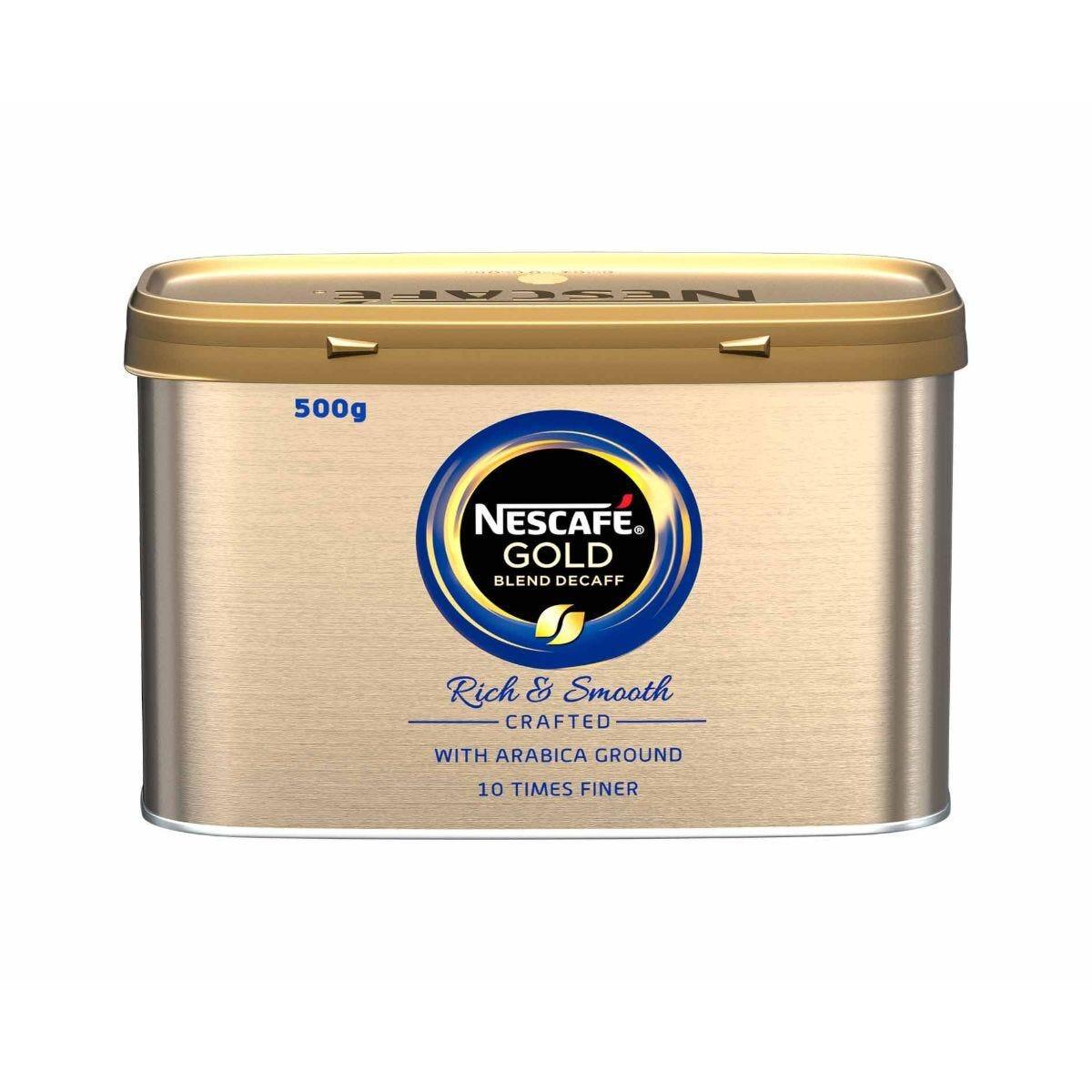Nescafe Gold Blend Coffee Decaffeinated 500g