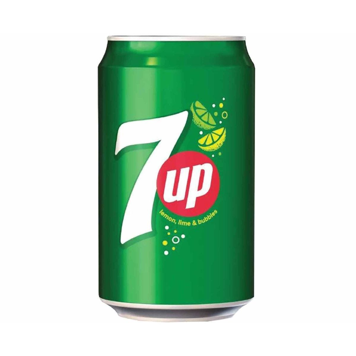 7-Up Lemon and Lime Canned 330ml Pack of 24