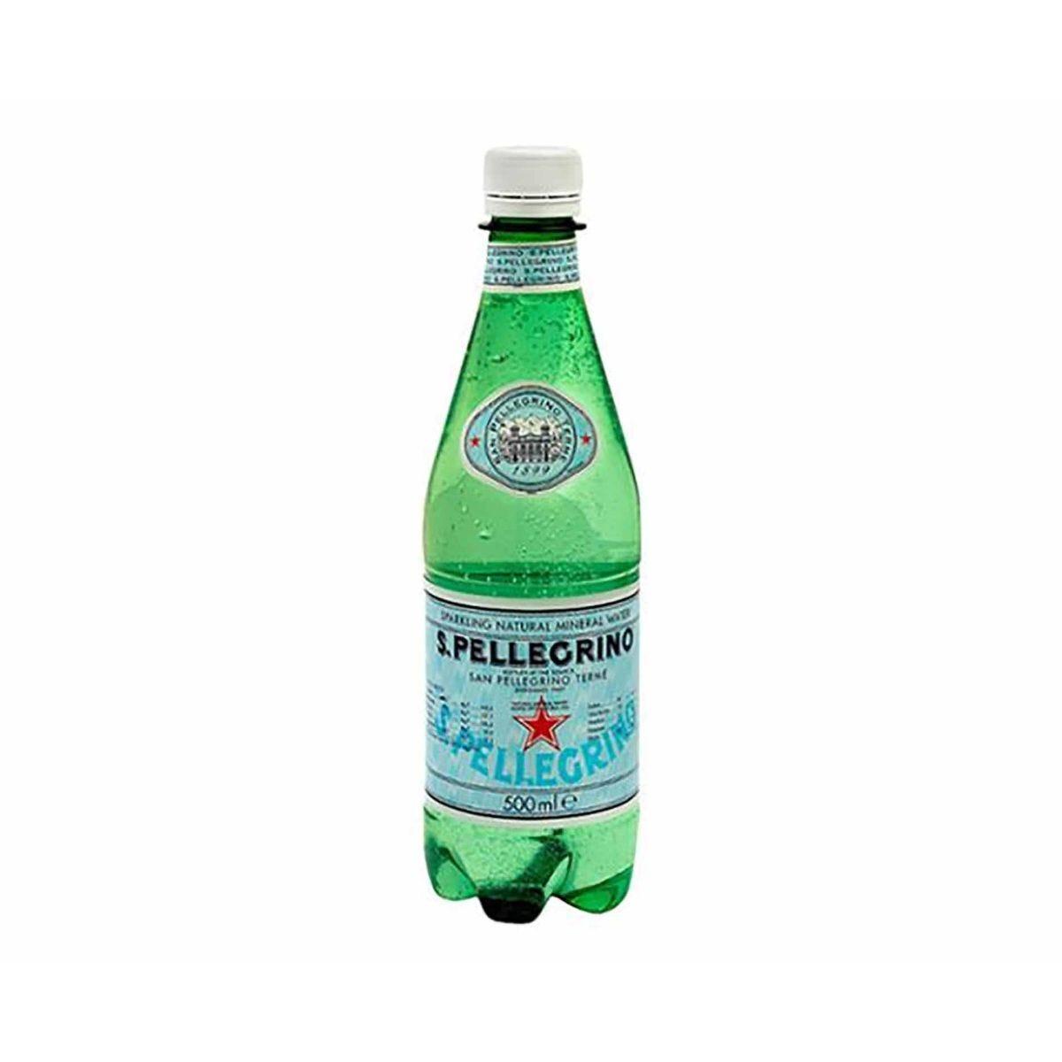 San Pellegrino Sparkling Water 500ml Bottles Pack of 24