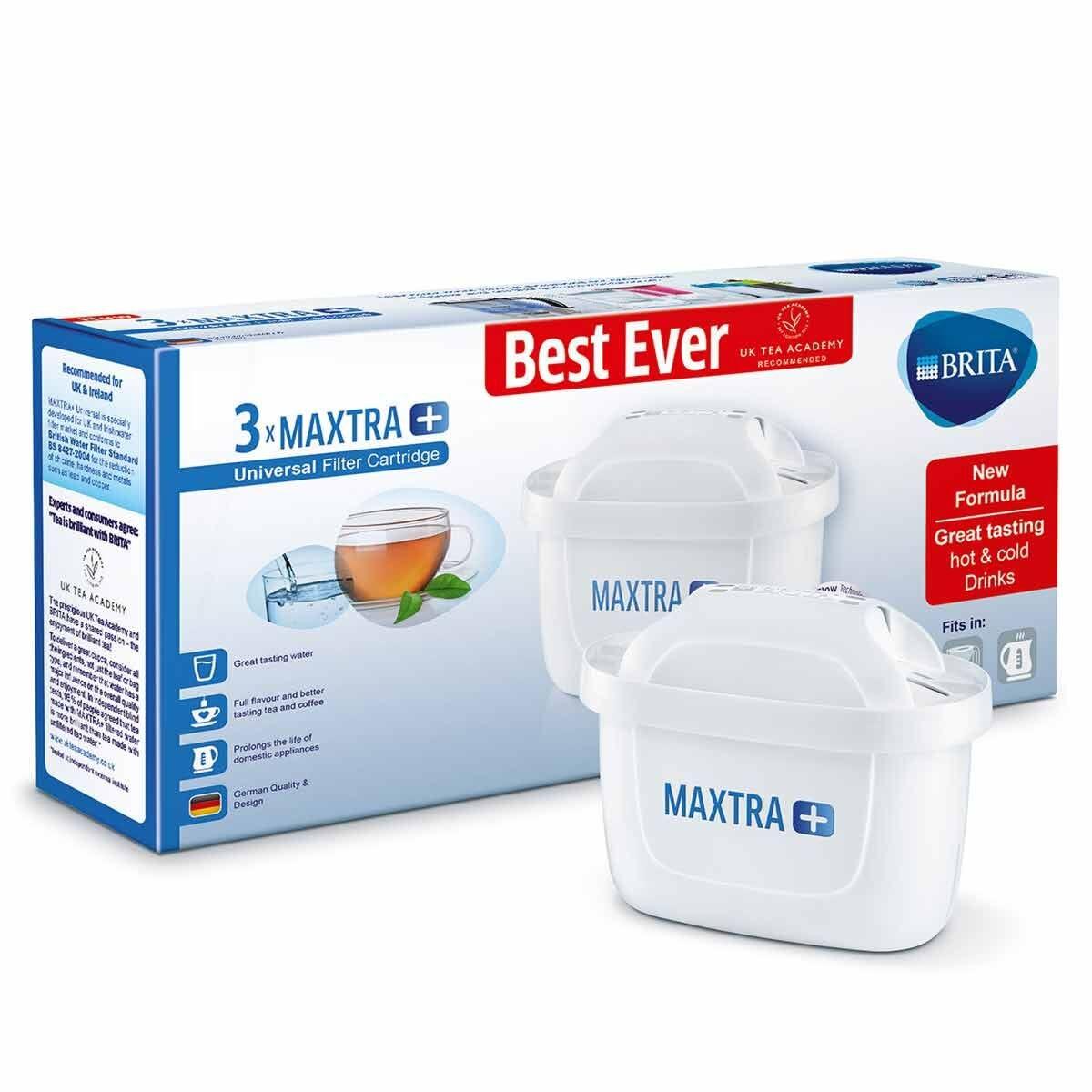 BRITA MAXTRA Plus Filter Cartridge Pack of 3