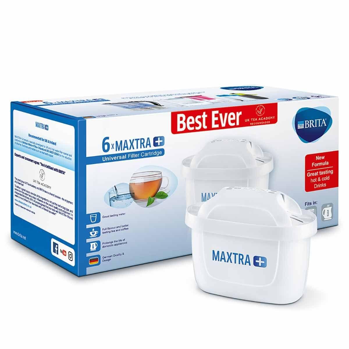 BRITA MAXTRA Plus Filter Cartridge Pack of 6