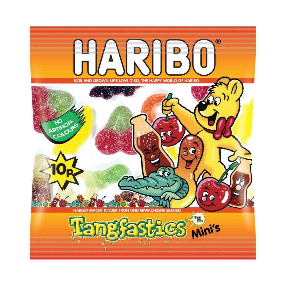 Haribo Tangfastics Small Bag Pack of 100