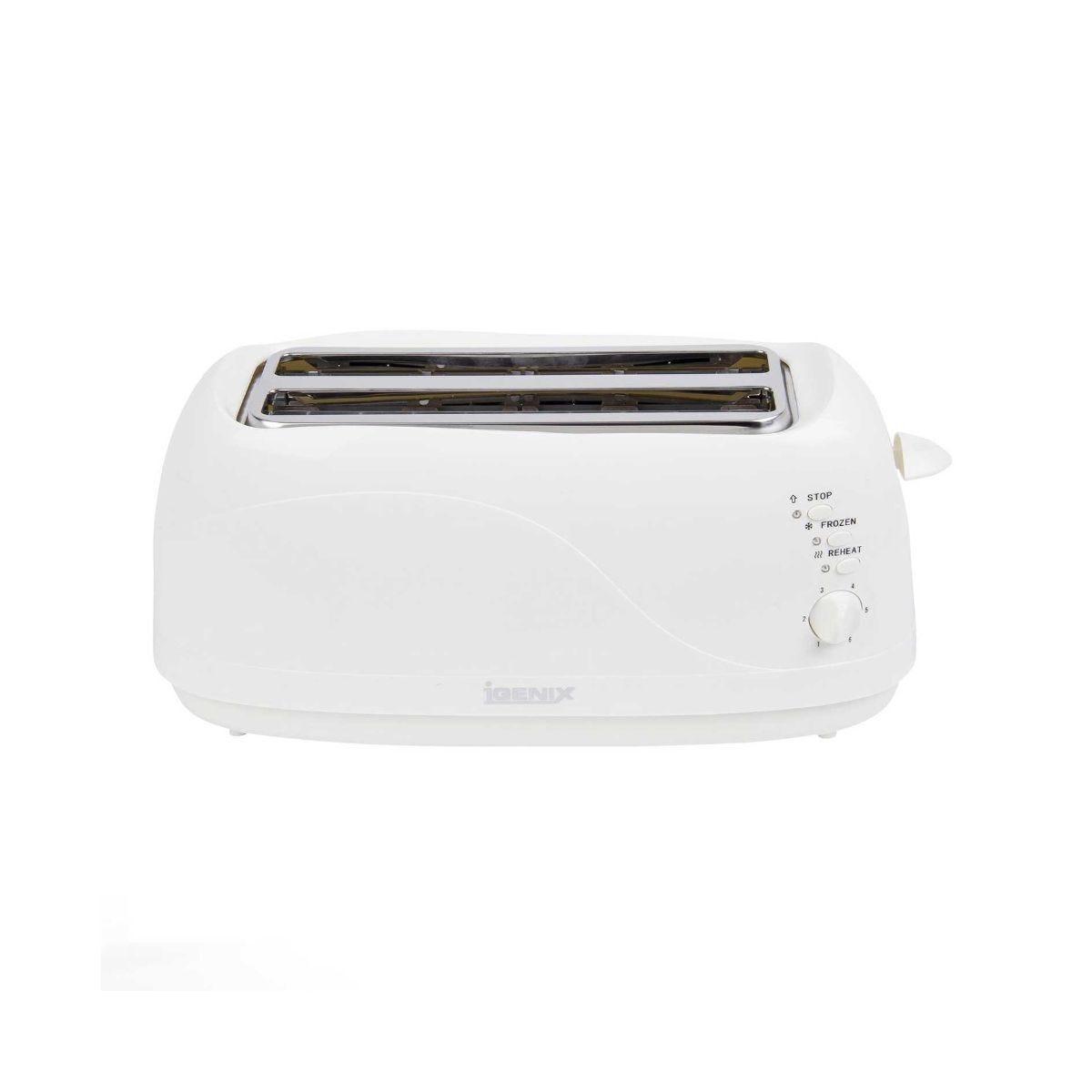 Igenix 4 Slice Toaster White