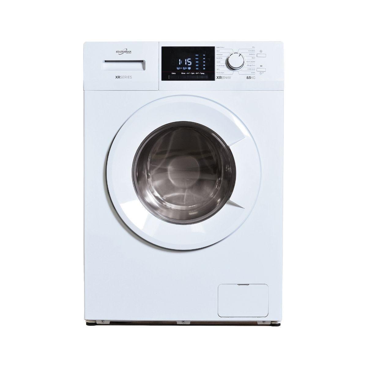 Statesman Washing Machine White 8KG Load