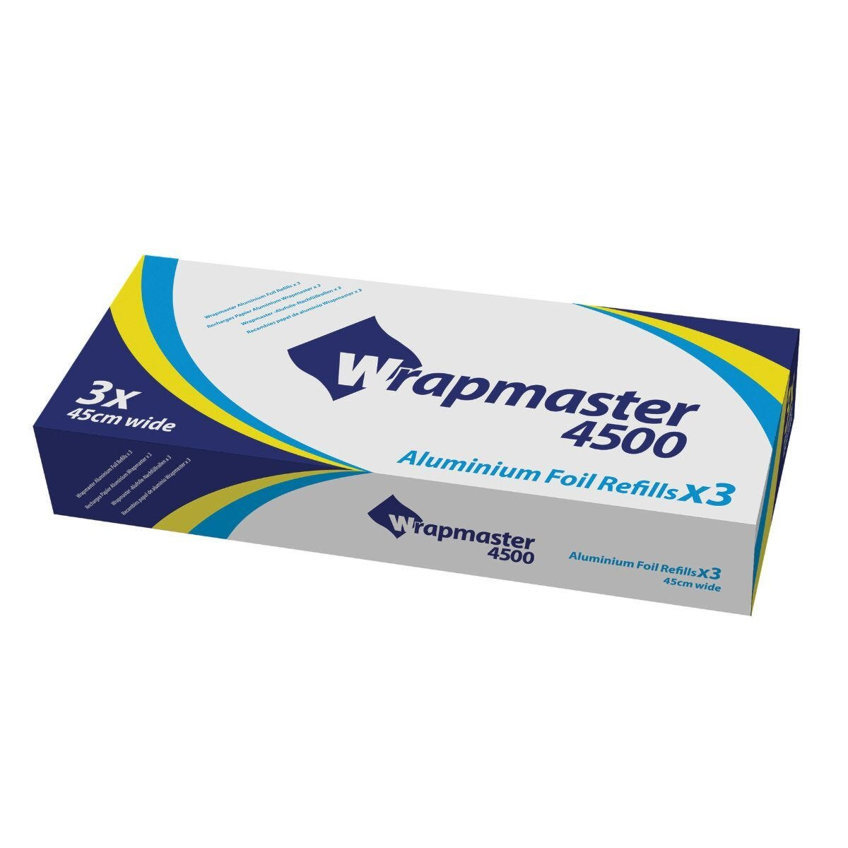 Wrapmaster 4500 Foil Refill 45cm x 90m Pack of 3