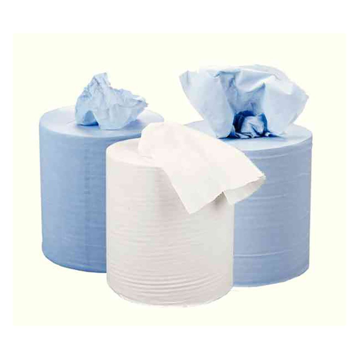 2Work 2 Ply Centrefeed Roll 150 Metres Pack of 6 White