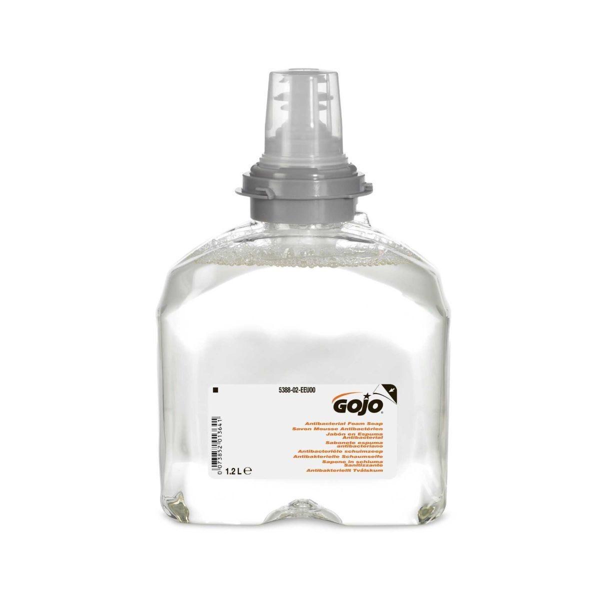 Gojo Antibacterial Foam Soap 2 x 1.2 Litre