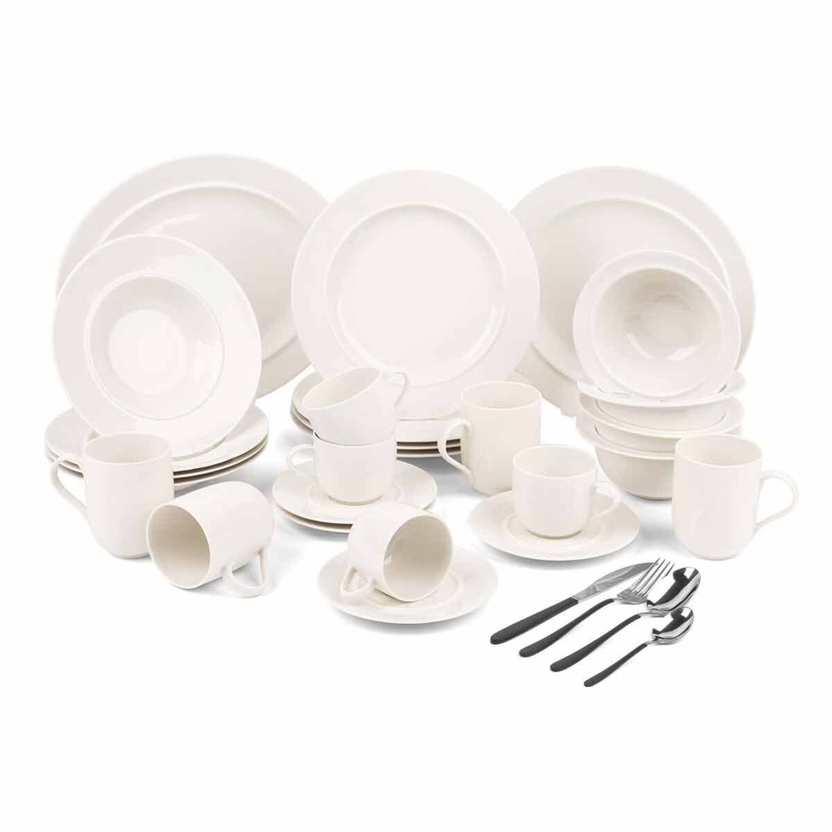 Alessi 38 Piece Dinnerware and Cutlery Set