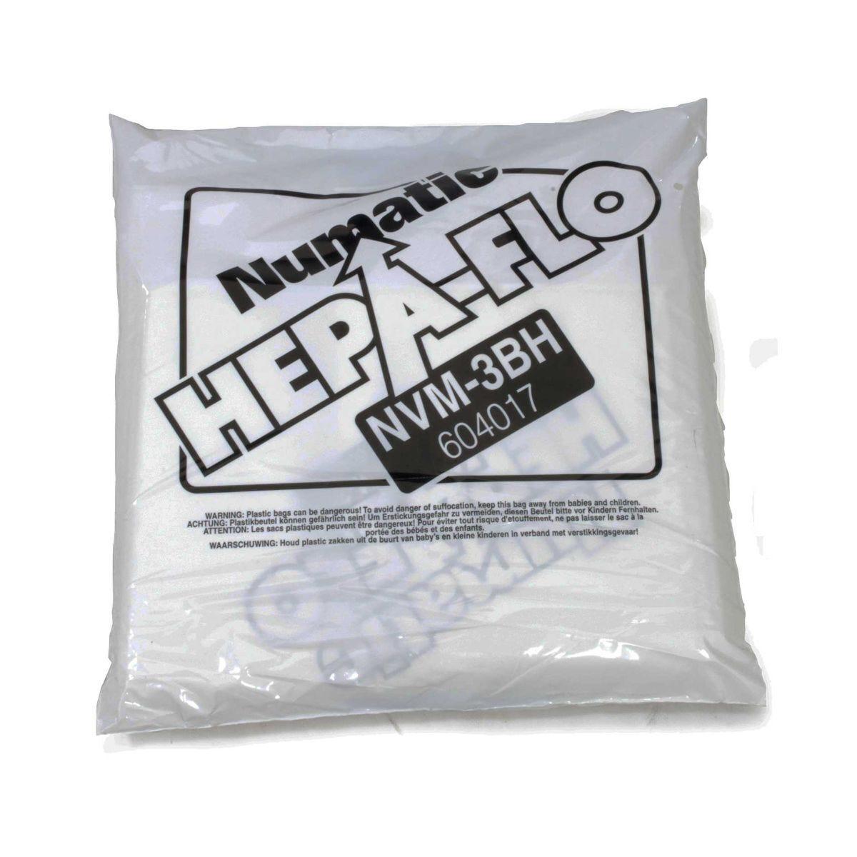 Numatic Charles Vacuum Cleaner Bags Pack of 10