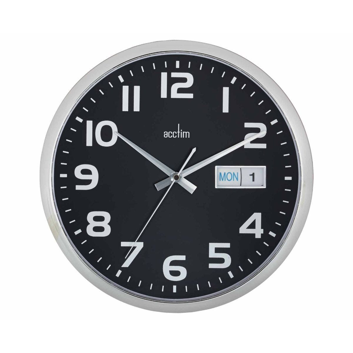 Acctim Supervisor Date Day Wall Clock