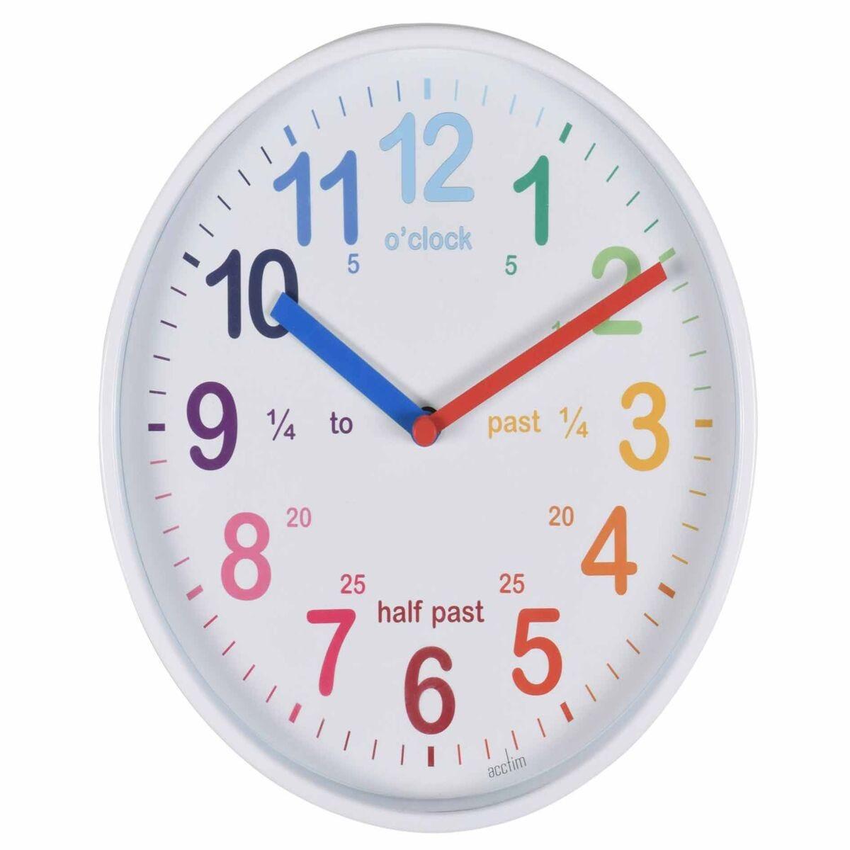 Acctim Wickford Time Teaching Wall Clock