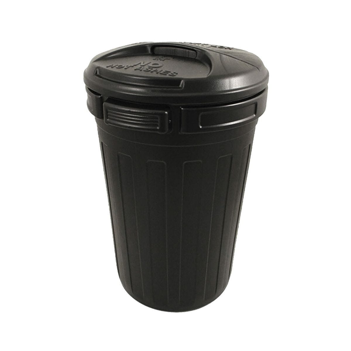 Charles Bentley Dustbin with Lid 80 Litre