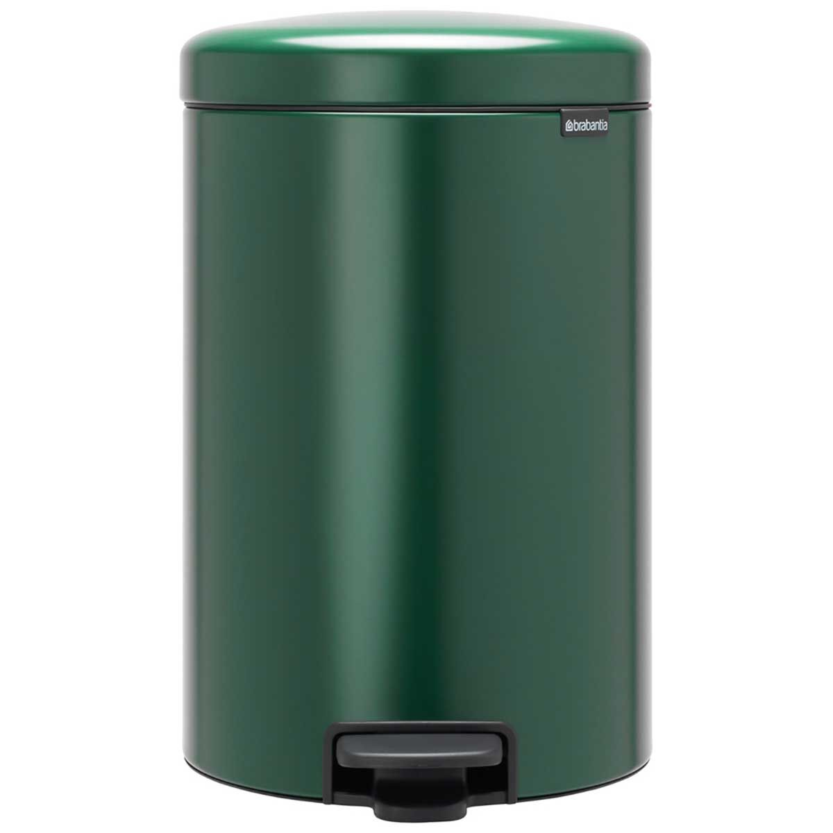 Brabantia NewIcon Soft Closing Pedal Bin 20 Litre Dark Green