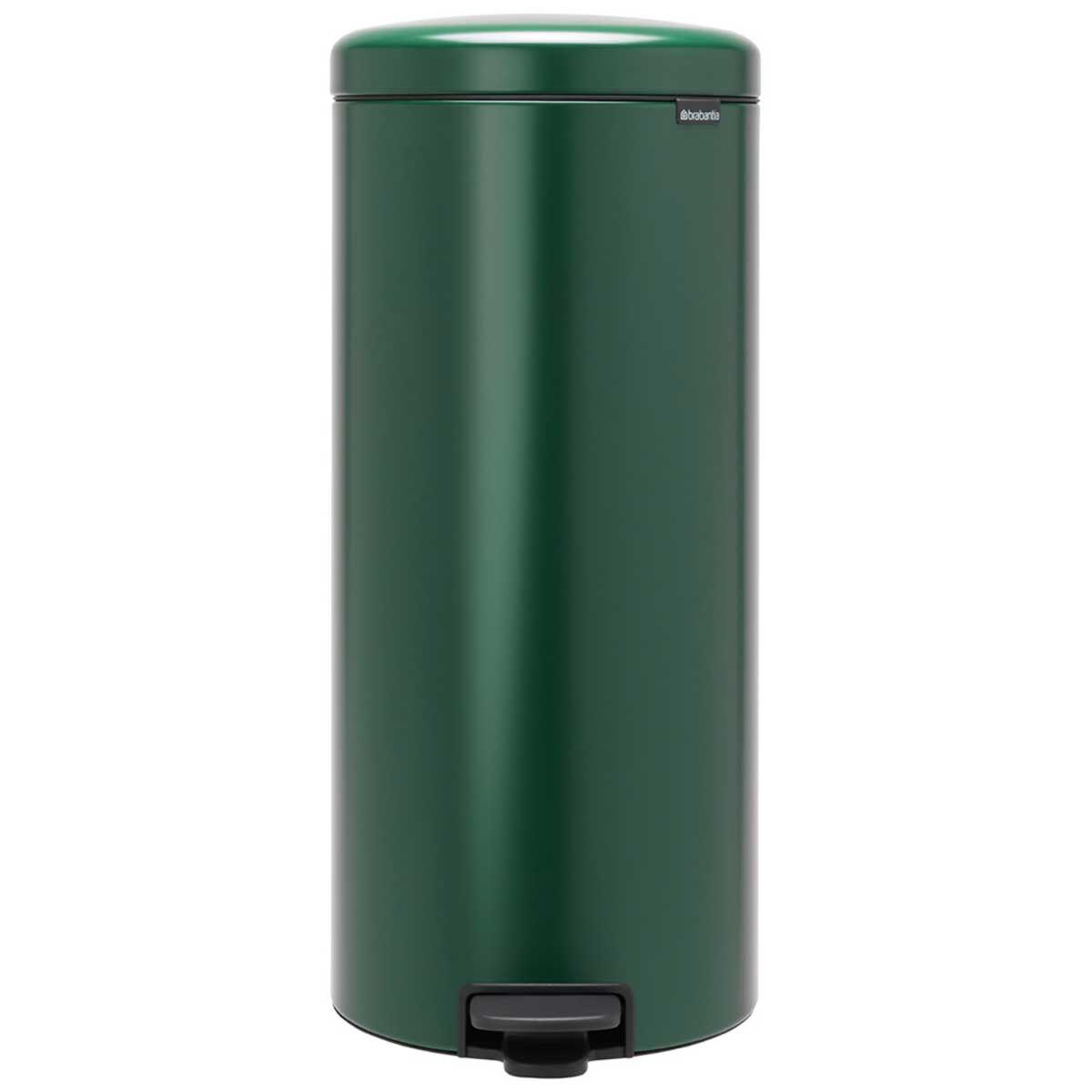 Brabantia NewIcon Soft Closing Pedal Bin 30 Litre Dark Green