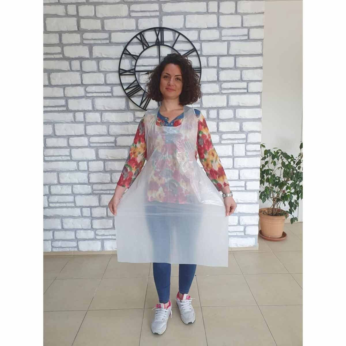 Disposable White Apron Pack of 100