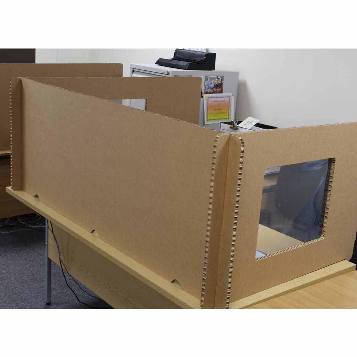 Pallite Desk Screen Set for 1200mm x 800mm Desk