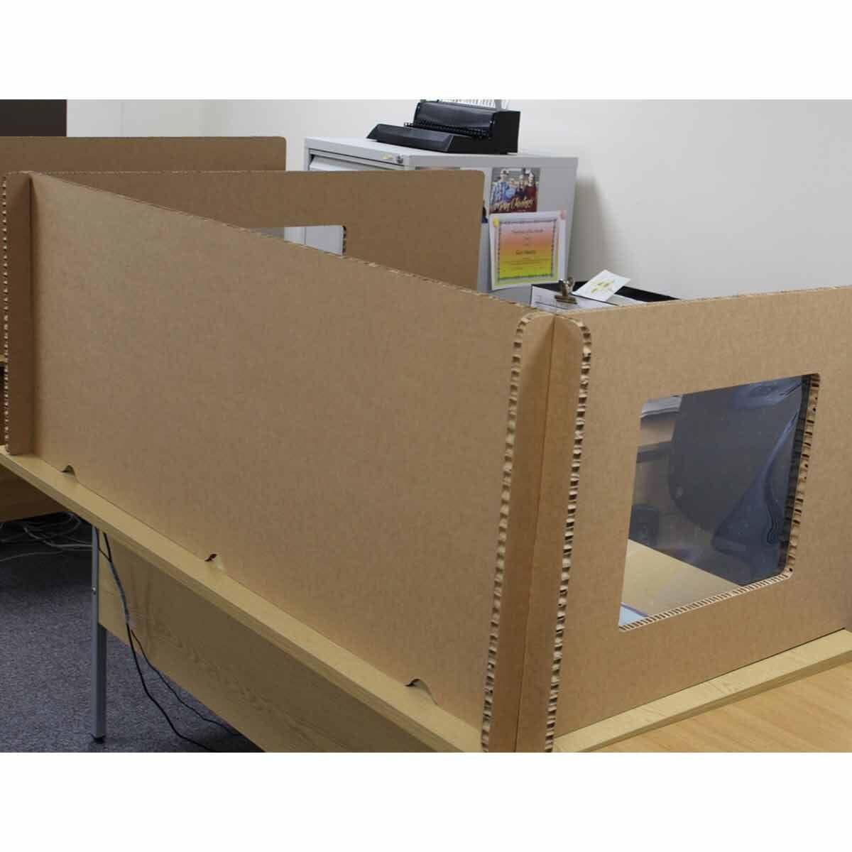 Pallite Desk Screen Set for 1600mm x 1200mm Desk