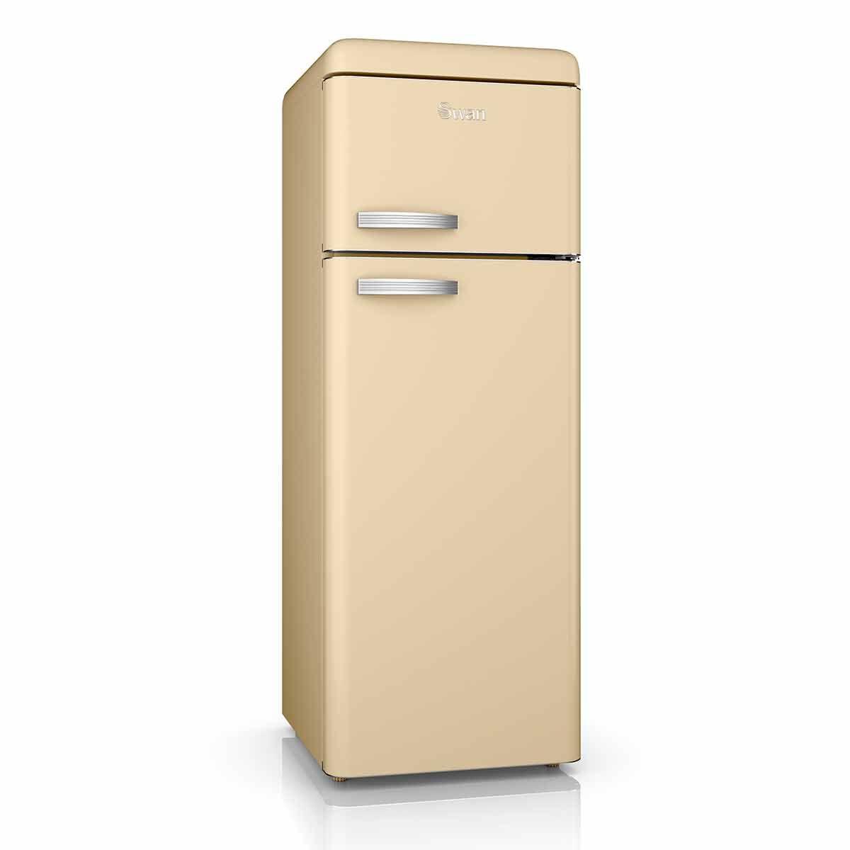 Swan Retro Fridge Freezer 208L