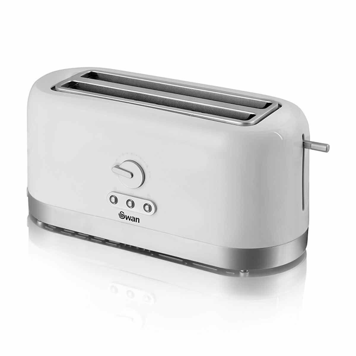 Swan Long Slot 4 Slice Toaster 1400W