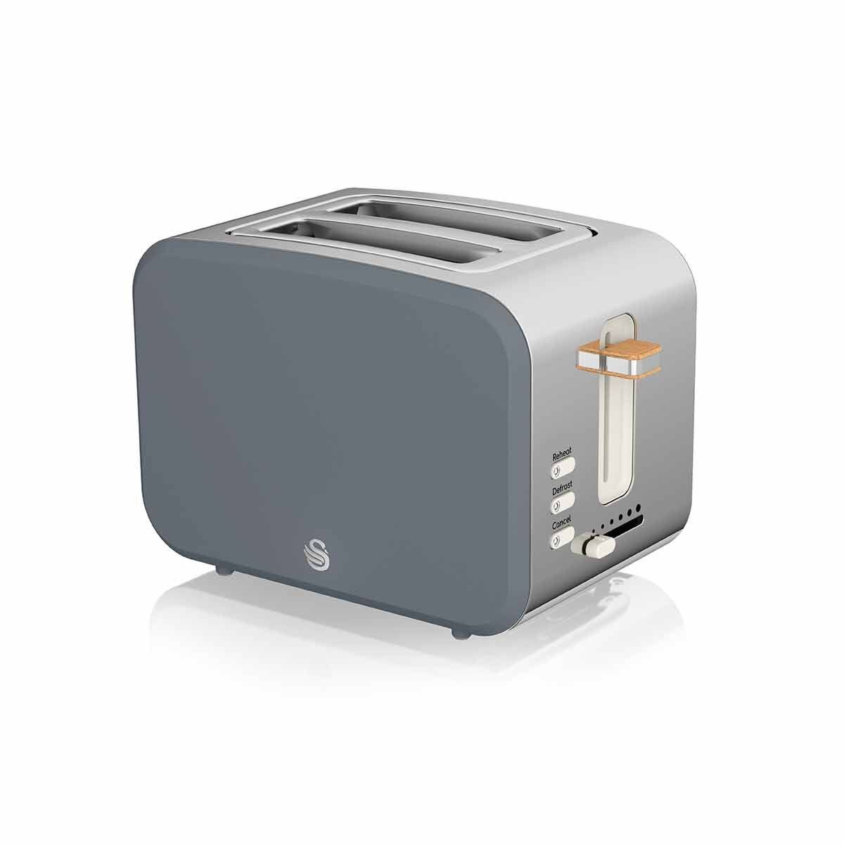 Swan 2 Slice Nordic Toaster 900W