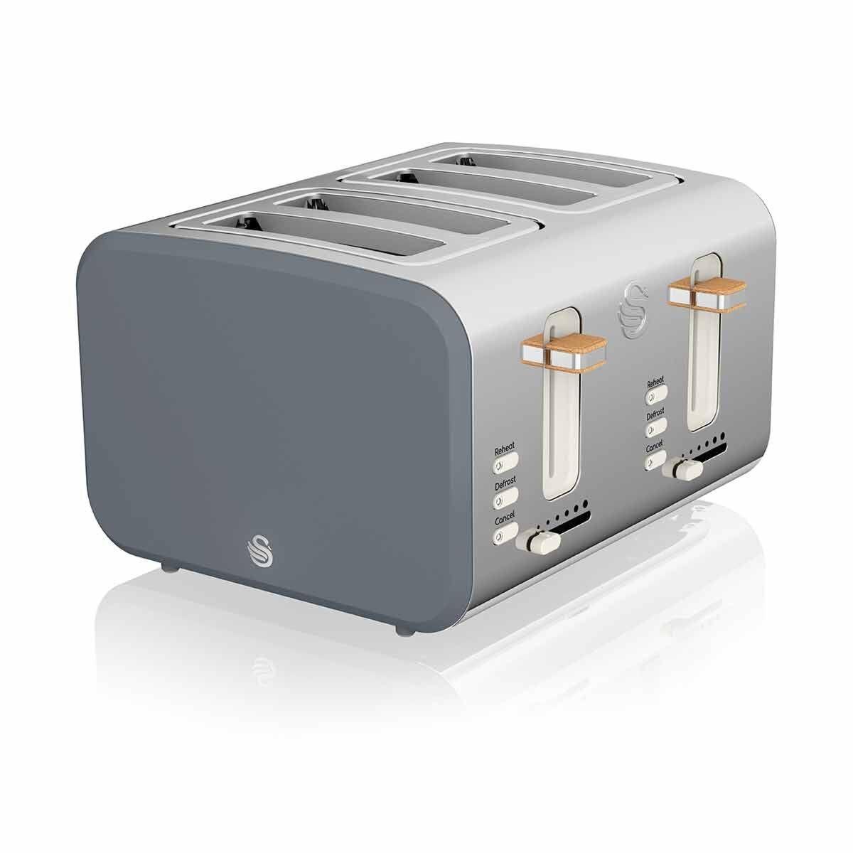 Swan 4 Slice Nordic Toaster 1500W