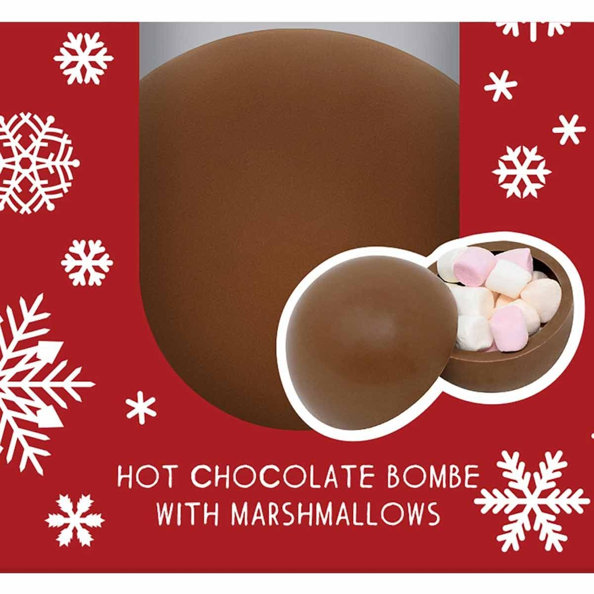 Cocoba Hot Chocolate Bombe with Marshmallows