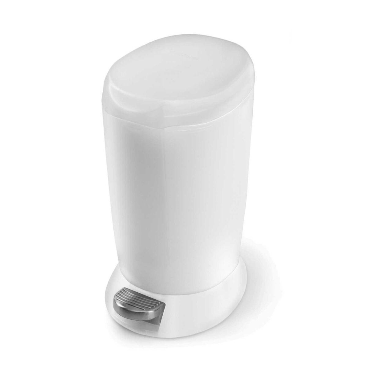 Simplehuman Round Plastic Pedal Bin 6 Litre