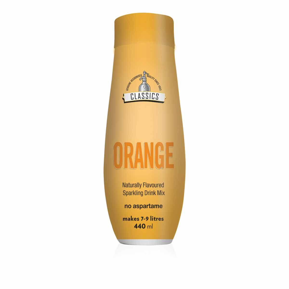 sodastream Classics Orange Sparkling Drink Mix 440ml