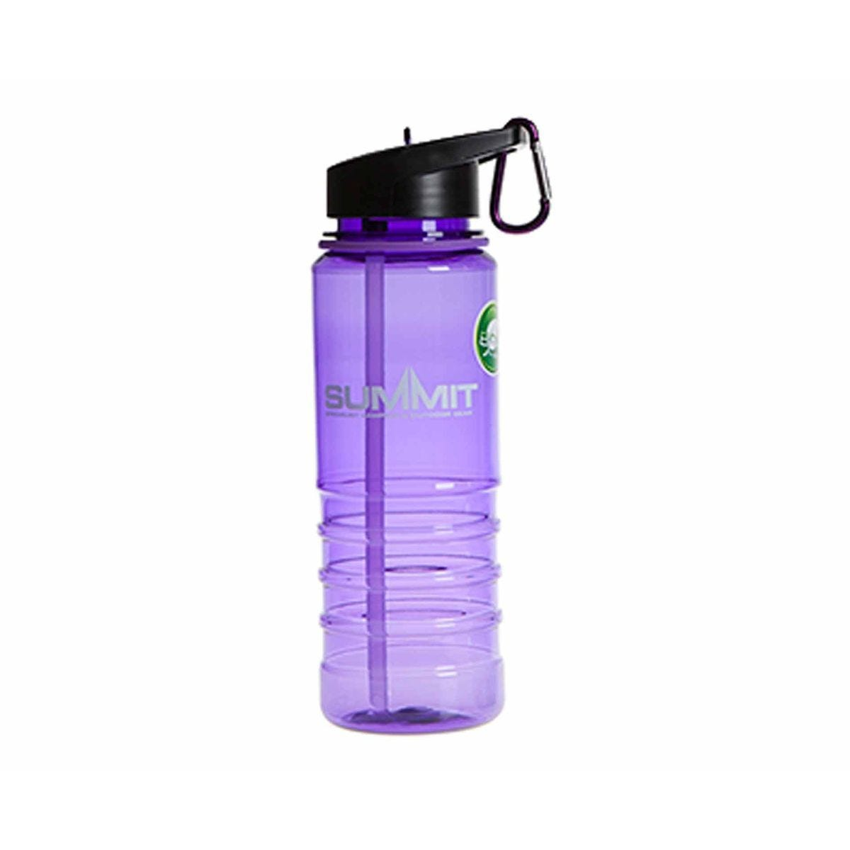 Summit Water Bottle with Carabiner 700ml Purple