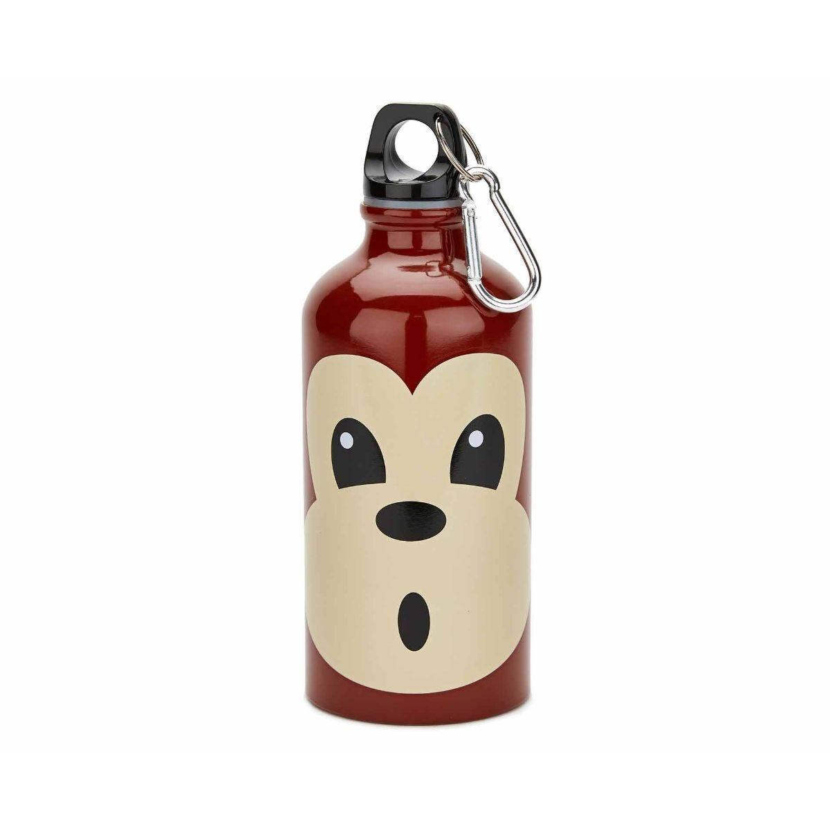 Aluminium Monkey Design Water Bottle 400ml