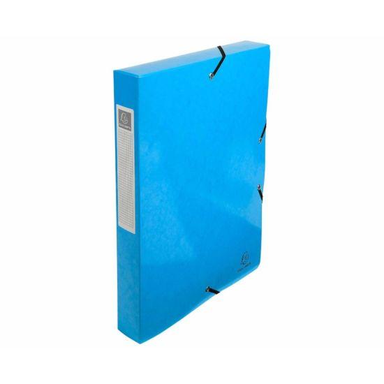 Exacompta Iderama Box File A4 Pack of 8 600gsm Blue
