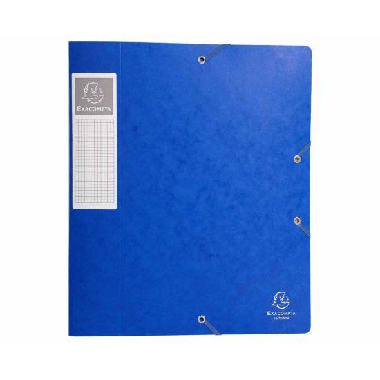 Exacompta Cartobox Box File A4 60mm Pack of 10 Blue