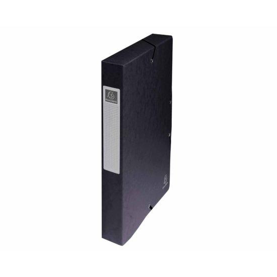 Exacompta Box File A4 40mm Pack of 8 Black
