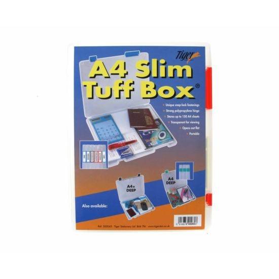 Tiger Brand Tuff Storage Box Slim A4