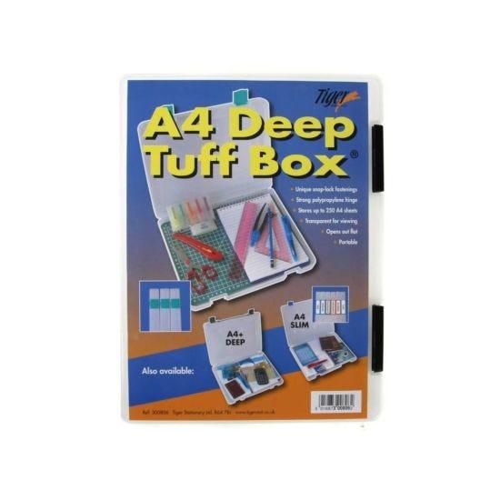 Tiger Brand Tuff Storage Box Deep A4
