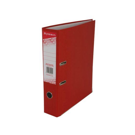 Ryman Colour Lever Arch File Foolscap Red