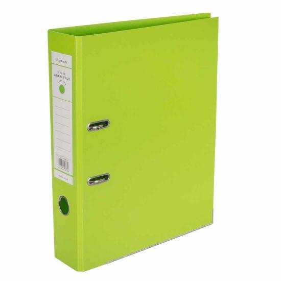 Ryman Premium Lever Arch File Foolscap Lime