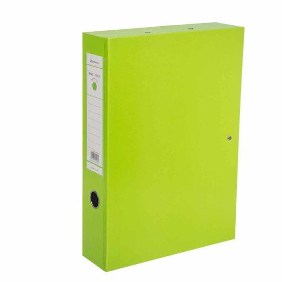 Ryman Premium Box File Foolscap Lime