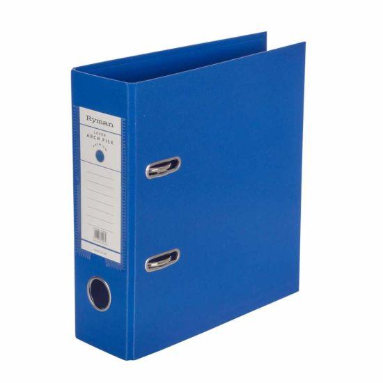 Ryman Premium Lever Arch File A5 Royal Blue